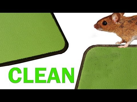 How to Properly Clean a Mouse Pad