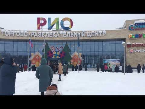 Эвакуация ТЦ РИО в Твери, 31.01.2019