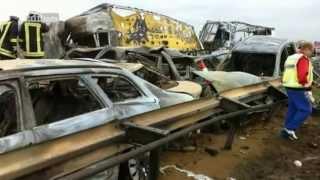 Katastrophe im Sandsturm - Der Massen-Unfall auf der A19 Teil 1/3