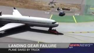 Must See Plane Landing Saved by a Truck
