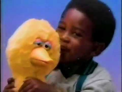 1986 - Talking Big Bird Doll Uses Cassette Tapes