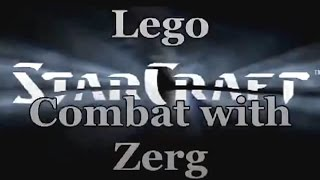 Lego StarCraft Combat with Zerg Лего мультфильм/Lego movie