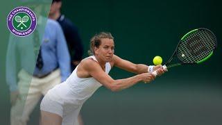 Kiki Bertens uitgeschakeld op Wimbledon