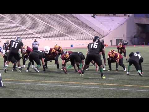 Roosevelt Rough Riders vs Belmont HillToppers  -Alumni Football 2013
