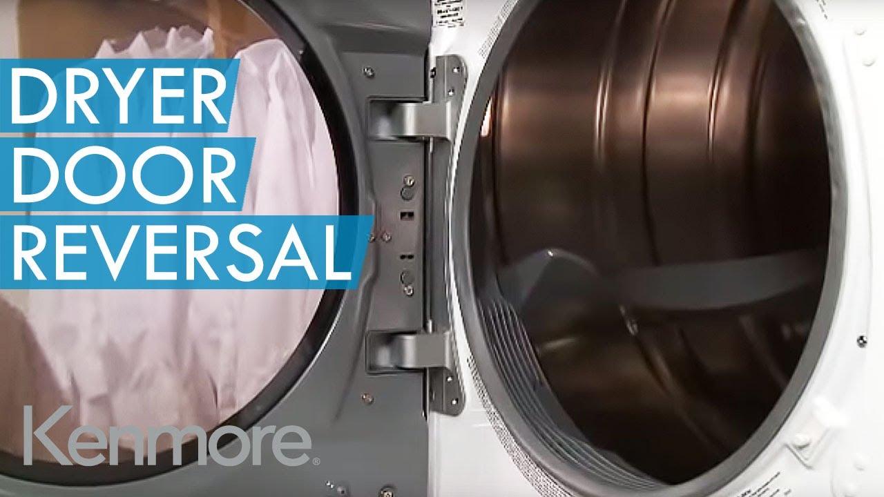 How To Reverse Dryer Door Kenmore Dryer Door Switch