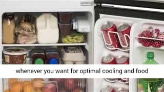 Arctic King - [ATMP032AEB] 3.2 Cubic Feet Two Door Mini Refrigerator Review