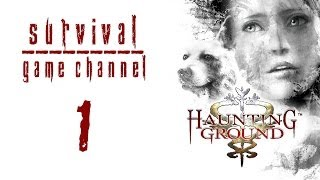 прохождение Haunting Ground 1080p  Часть 1: Незнакомый особняк