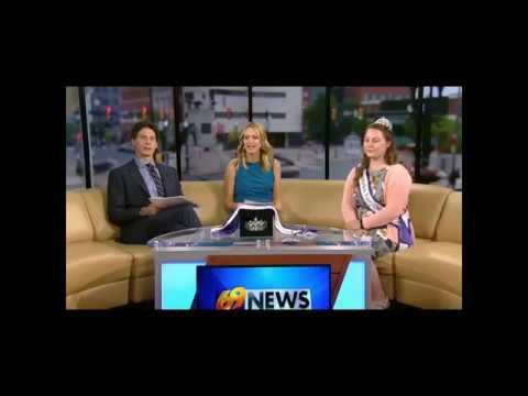 Allentown Fair Queen Channel 69 News Interview For 2018 Fair Queen