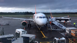 iPhone time-lapse Easyjet Airbus a320 fast turnaround and approaching Edinburgh airport cabin video