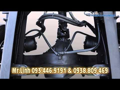 THACO bán xe đầu kéo, xe tải nặng Hyundai nhập 3,4,5 chân tải 14 tấn 17 tấn 20 tấn  HD700 và HD1000