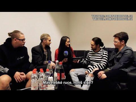 Tokio Hotel Interview s Aline Lehmann - Stuttgart, 25.03.2017 #CZ