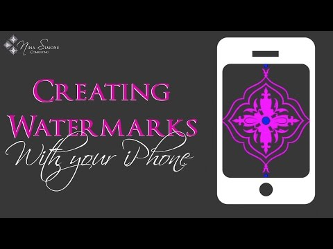 Best Watermark App - How to add a logo watermark with an iPhone | Ezy Watermark