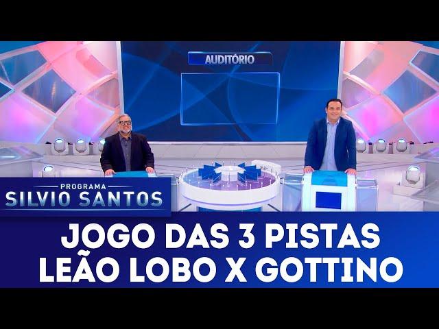 Jogo das 3 Pistas - Leão Lobo x Reinaldo Gottino | Programa Silvio Santos (30/12/18)