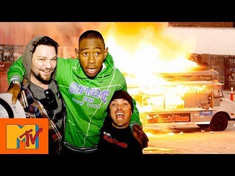 Tyler, The Creators Flaming Hot Taco Truck | Punkd