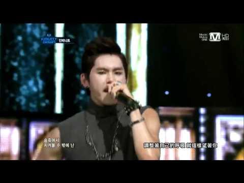 【HD繁中字】110929 Infinite - Paradise @ Comeback Stage
