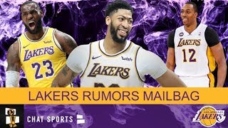 Los Angeles Lakers Rumors On LeBron James Or Anthony Davis As Top Player, Kyle Kuzma & Dwight Howard