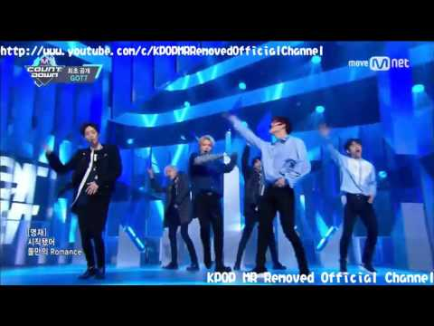 [MR Removed] 170316 GOT7 - NEVER EVER [Comeback Stage M COUNTDOWN]