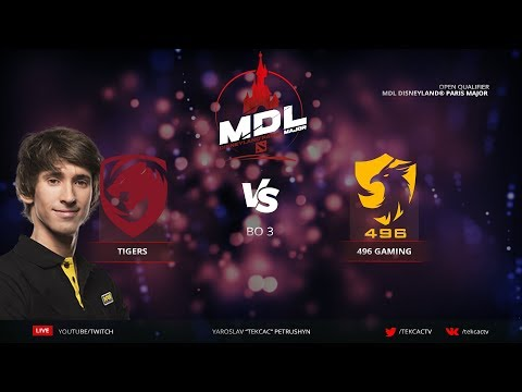 [RU] Tigers.Dendi vs 496 Gaming | bo3 | MDL Disneyland® Paris Major by @Tekcac