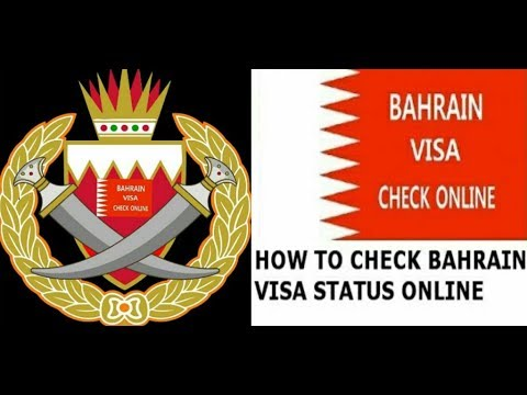 BAHRAIN VISA CHECK ONLINE STATUS WITH PASSPORT NUMBER AND DATE OF BIRTH
