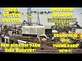 Universal Orlando Resort Harry Potter / Jurassic Ride Construction Update 7.26.18 NEWS EVERYWHERE!
