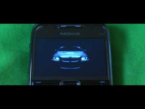 Nokia E71 Bmw Start up animation