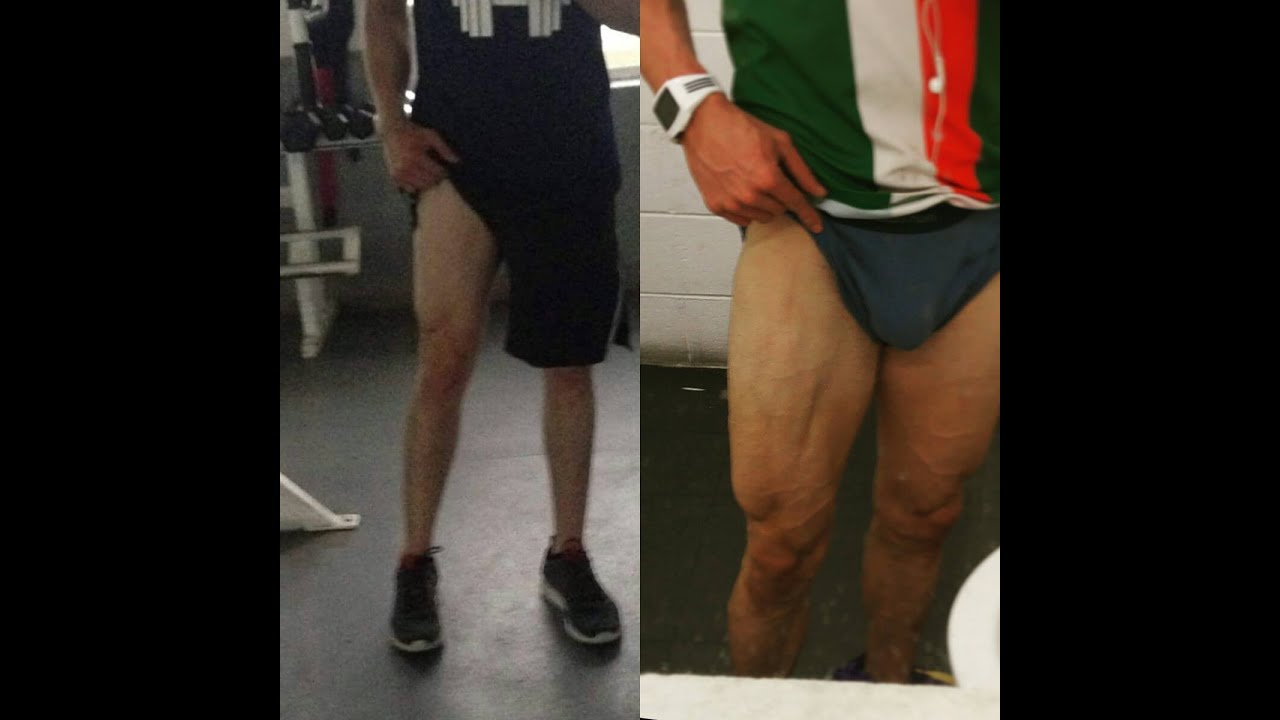 Squats Before And After MY 6 MONTH LEG TRANSFO...