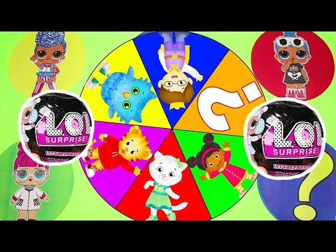 LOL Confetti Pop Wave 2 Game - Real or Fake - Spin the Wheel with Beatnik Babe and Egg Surprise Toys |