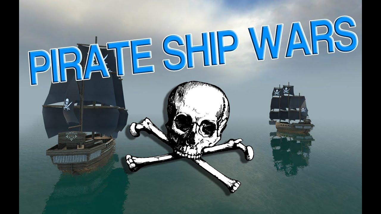Gmod Pirate Ship Wars Youtube