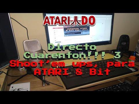 Directo cuarenton! 3 Shoot'em ups para ATARI 8 bit. :)