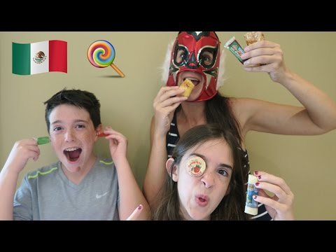 TRYING CRAZY MEXICAN CANDY!