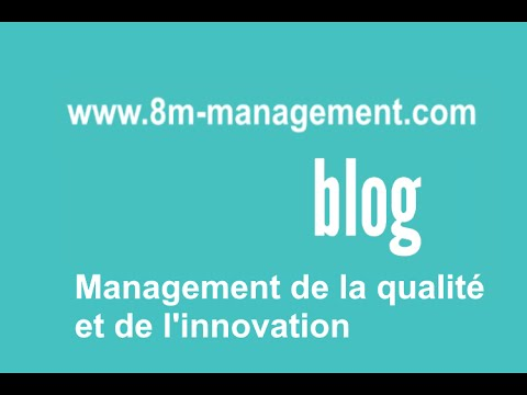 Le blog qualité et innovation de 8M Management
