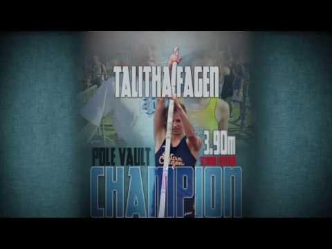 NAIA National Championships: Talitha Fagen