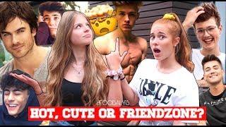 HOT, CUTE or FRIENDZONE??🤭🥶| LEOOBALYS