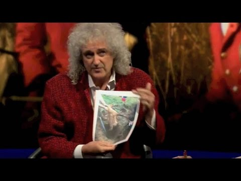 Brian May Newsnight 9 July 2015 On Foxhunting