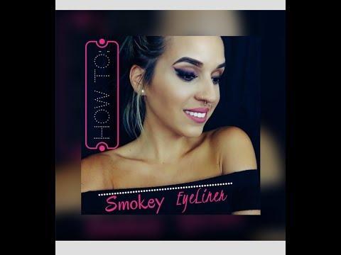 Smokey eyeliner Tutorial