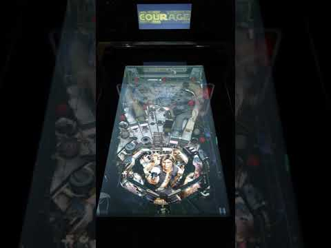 Arcade1up Star Wars Pinball Han Solo Gameplay from Kevin F