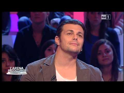 Gianluca Grignani a 'L'Arena' (19.10.14)