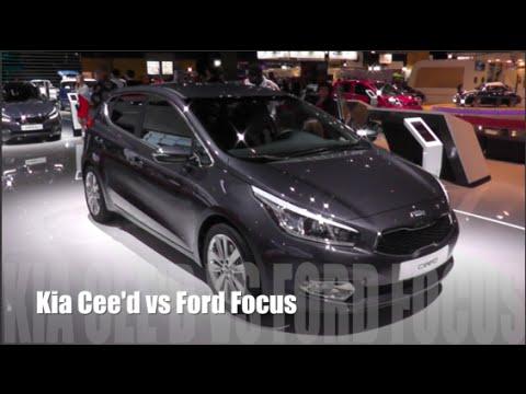 ford focus 3 и kia ceed