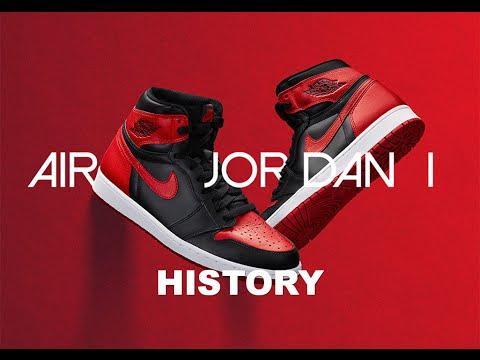 HISTORY OF THE AIR JORDAN 1 BLACK/RED AKA BRED