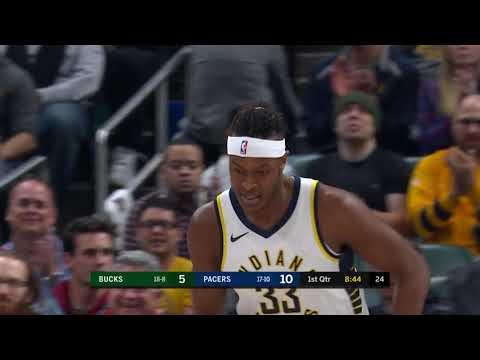 Indiana Pacers Highlights vs Milwaukee Bucks - Dec. 12, 2018