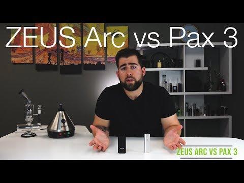 Pax 3 vs ZEUS Arc Vaporizer Comparison Review - TVAPE - YouTube