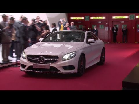 watch the 2015 mercedes benz s class coupe debut at the geneva auto show