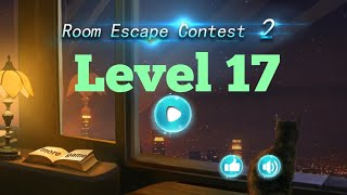 room Escape Contest 2 Level 17 Walkthrough