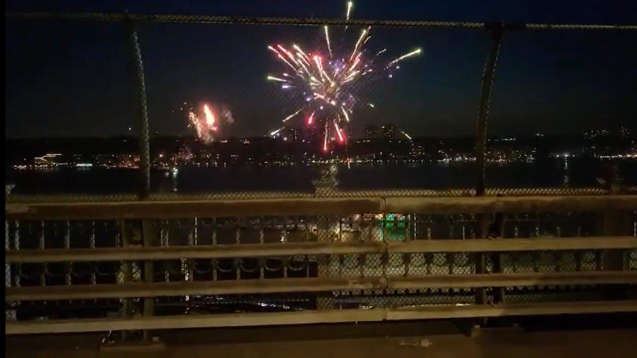 Live 7/4 New York firework 直播纽约烟火