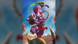Troll, Rastakhan's Rumble, Hearthstone - Animated Art