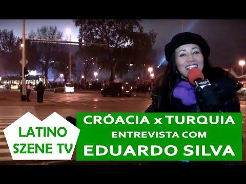 Jogo Croácia x Turquia: Entrevista com Eduardo da Silva!
