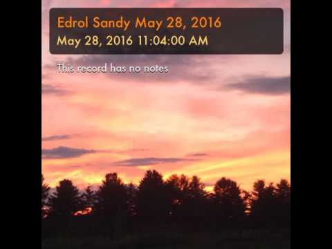 Edrol Sandy May 28, 2016