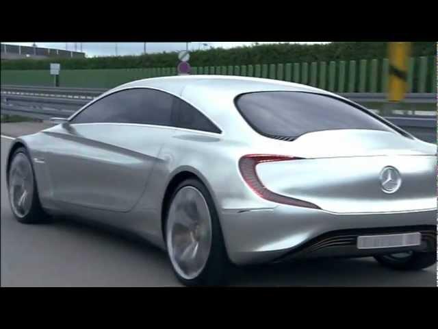 Mercedes 2011 F 125 Hydrogen Gullwing Special Trailer