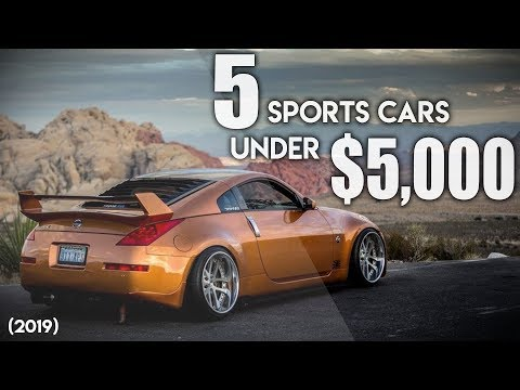 TOP 5 CHEAP SPORTS CARS UNDER $5,000!