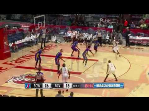 Chris Walker Houston Rockets D-league Highlights 2016-17